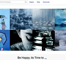 Rainy Days - 1 November 2010 by The RedBubble Homepage