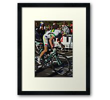 Ruth Corset Framed Print