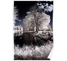 Reflection in Pond - Kanata Ontario Poster
