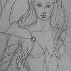 Brave Princess Warrior by Anthea  Slade