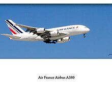 Air France A380 on Finals to OR Tambo by Paul Lindenberg