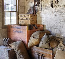 Provisions store at Flagstaff Hill Maritime Village by Roger Neal