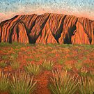 Uluru - Heart of Australia by Lisa Frances Judd ~ Original Australian Art