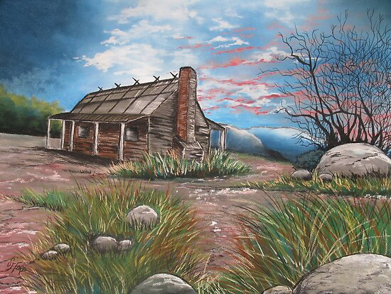 Sunset in the High Country by Sally Ford