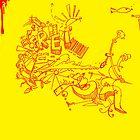 My Big Yellow Poster by Rahul Ravi