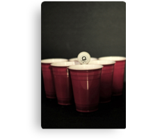 BeerPong 2nd round! Canvas Print