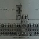Laon - Elevation from the South by Peter Reid