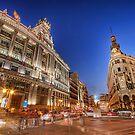 The Chaos Of Pedestrians @ Alcalá Street by servalpe