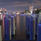 Lavender Bay, Pier poles by Jari Vipele