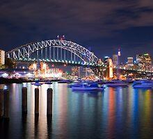 Sydney Harbour Bridge by Jari Vipele