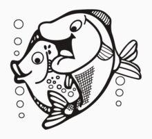 Fish-Fish Kids Clothes