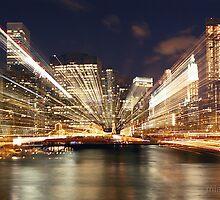 Manhattan lights, Manhattan nights.. by Irina Marennikova