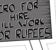 Hero For Hire Sticker
