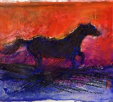 Dragons and Horses: Paintings by Janet Piesold by Visuddhi