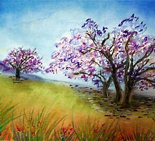 Under the Jacaranda Tree by Corrina Holyoake