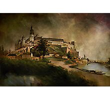 Wawel Castle, 1845 y Photographic Print