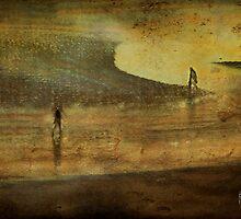 Cabourg beach heroes by Sonia de Macedo-Stewart