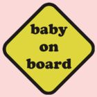 baby on board by skphotography