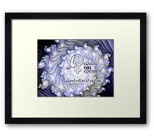 Good Will to All Women Card Framed Print