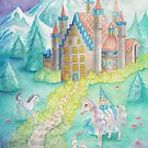 The Princess and the Castle by AngelArtiste