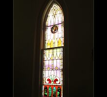 A Window At St. Michael's. by Theodore Kemp