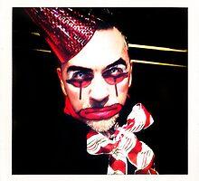 Portrait of a Clown II by RobertCharles