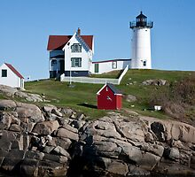 Cape Neddick, Nubble Light by phil decocco