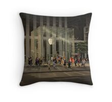 The Big Apple Throw Pillow