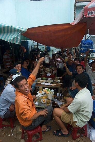 Daytime Drinking in Saigon by Sergey Kahn