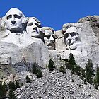Mt. Rushmore by Rebel Kreklow