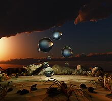 Outback they glowed in the sky by catealist