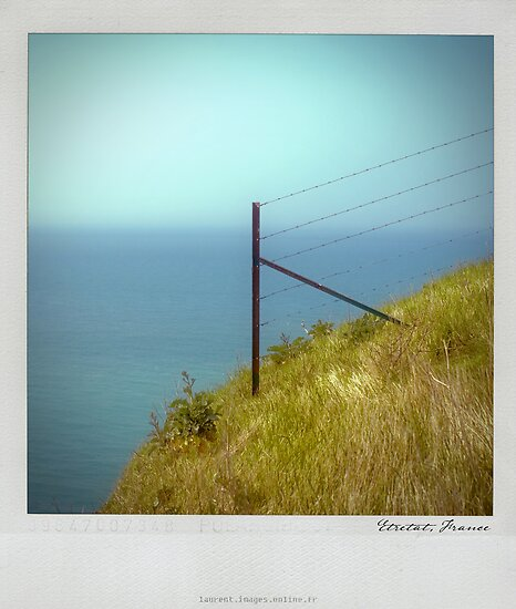 Cliff Polaroïd by Laurent Hunziker