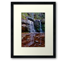 Fairy Bower falls. Framed Print