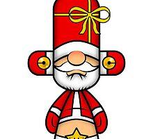 Capsule Toyz - Santa Claus by Saing Louis