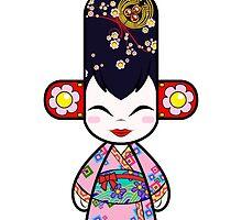 Capsule Toyz - Geisha by Saing Louis