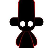 Capsule Toyz - Black Icon by Saing Louis