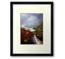 Towards Priest's Cove, Cape Cornwall Framed Print