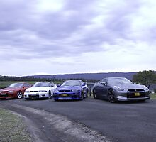 GT-R heaven! by GoldZilla