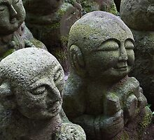 Disciples of Buddha by Tony Roddam
