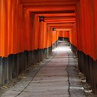 Kyoto shrine by Tony Roddam