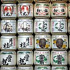 Sake barrels by Tony Roddam