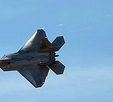 US Air Force F-22 Raptor  by Kenneth Fugate