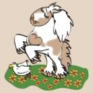 Gypsy Cob rearing t-shirt by Diana-Lee Saville