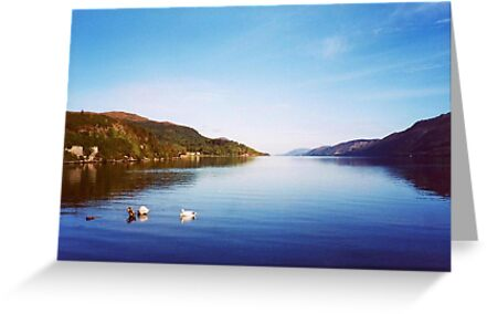 Clearly Autumn ~Entering Loch Ness; Leaving Fort Augustus by artwhiz47