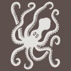Octopus (grey) by Apotypomata