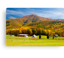 House on the Hill! Canvas Print