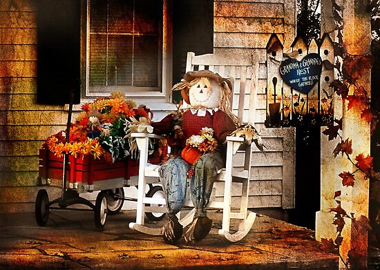 The Art of Sitting on the Porch by Nadya Johnson