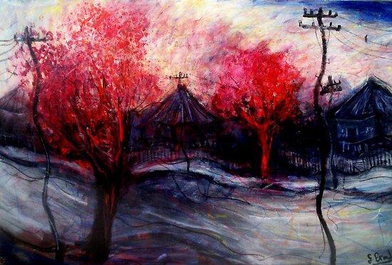 red tree's by glennbrady
