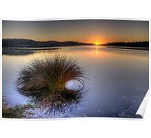 Awakening - Narrabeen Lakes, Sydney - The HDR Experience Poster