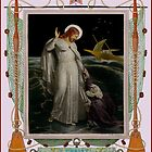 Christ walking on the Sea. by albutross